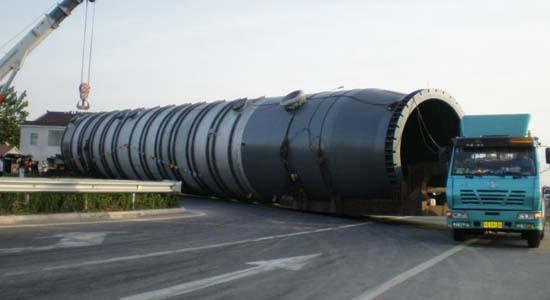 整套风电工程设备(风叶运输